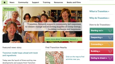 Site of Sustainability:The Transition Network