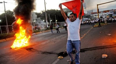 Nicaragua deaths in post-election violence