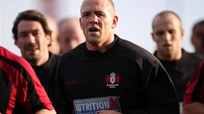 Mike Tindall removed from England squad