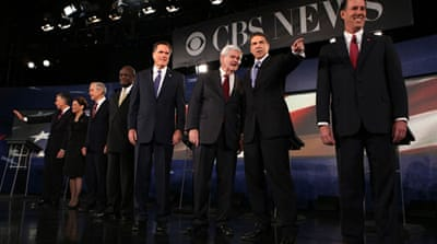 Republican hopefuls attack Obama over Iran