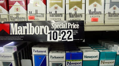 Tobacco giant sues Australia over package law