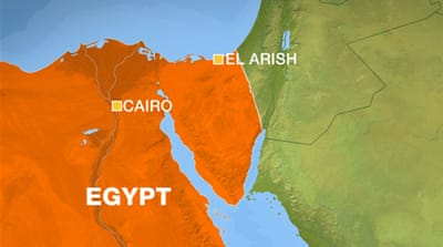 Attack on police checkpoint in Egypt's Sinai