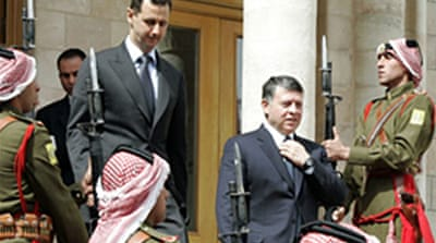 Jordan's king urges Assad to step down