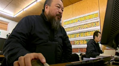 Legal battles tax China's Ai Weiwei