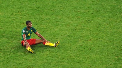 Cameroon players join the strike movement