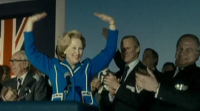 Hollywood portrays life of the 'Iron Lady