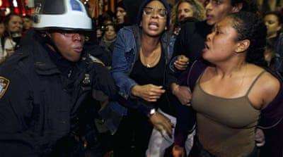Police break up New York 'Occupy' camp