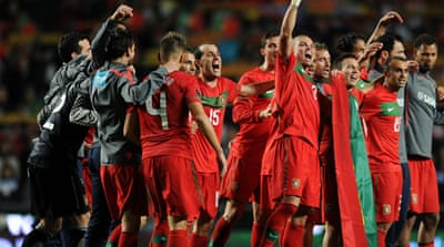 Final four teams qualify for Euro 2012