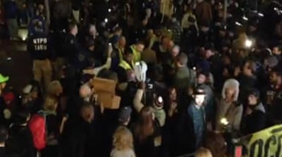 'Occupy' protesters return to New York park