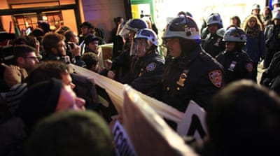 Arrests made at Occupy protests in US cities