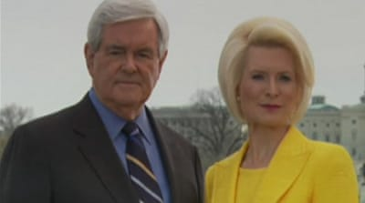 Gingrich surges in US Republican race