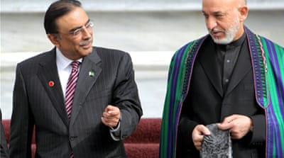 Karzai seeks Pakistan's help with Taliban