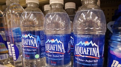 Bottled water companies target minorities