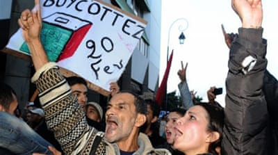 Thousands in Morocco call for poll boycott