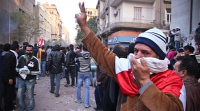 In Pictures: Tahrir Square protests continue