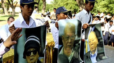 Cambodia begins trial of Khmer Rouge leaders