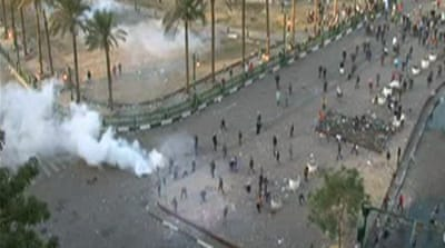 Tense standoff in Cairo's Tahrir Square