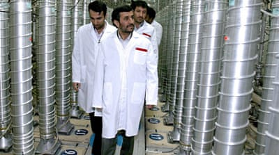 Iran tests 'homegrown' nuclear fuel rods