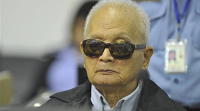 Khmer Rouge leader: Victims were 'traitors'
