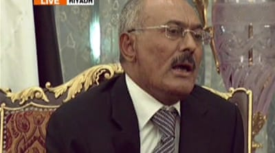 Yemen's Saleh agrees to transfer power
