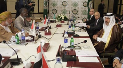 Arab League meets in Cairo over Syria