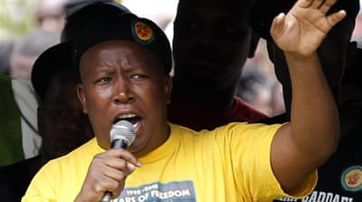 S Africa's Malema faces incitement charges