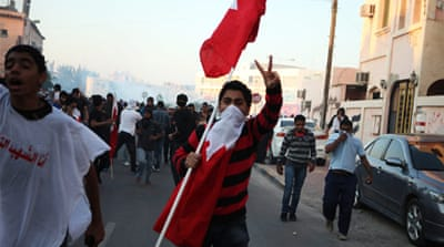 In pictures: Violence follows Bahrain funeral