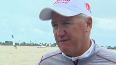 Aussie sailing legend competes in Malaysia