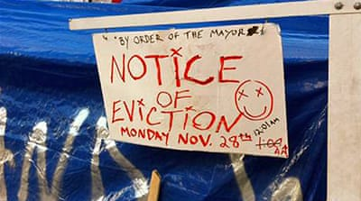Occupy LA protesters brace for eviction