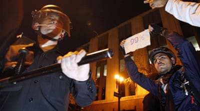 Police arrest several Occupy LA activists