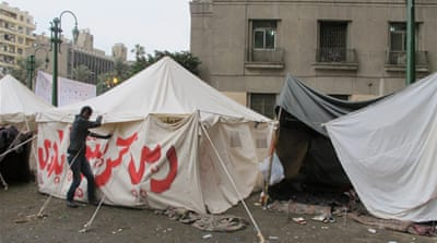 Egypt's 'Ultras' pitch in at Tahrir protest