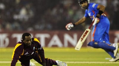 Sharma steers India win