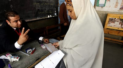 Egyptian elections mark break with the past
