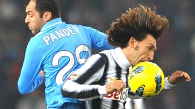 Juve fight back against Napoli