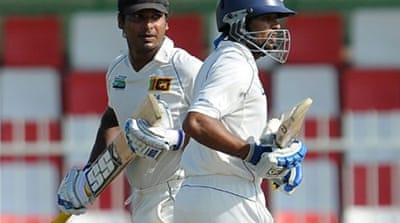 Sangakkara ton lifts Sri Lanka
