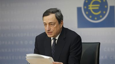 ECB head warns of increased eurozone risks