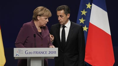 Germany and France give ultimatum to Greece