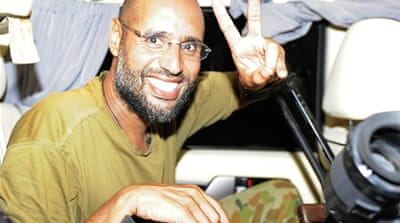ICC: Gaddafi son Saif trying to flee Libya