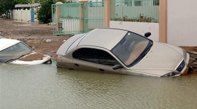 Tropical Cyclone Keila leaves Oman flooded