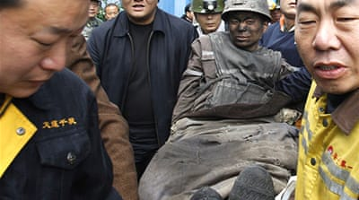 Several Chinese miners rescued from coal mine