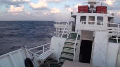 Israel navy to 'intercept' Gaza-bound vessels