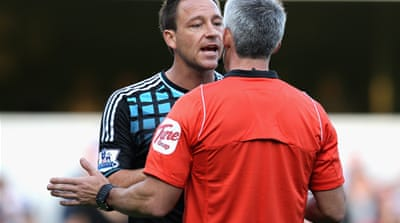 Zero tolerance for John Terry