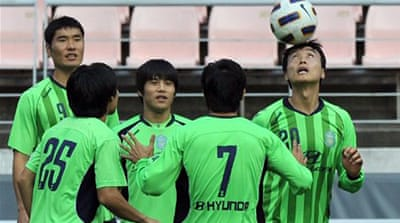 South Korea lose Champs League spot