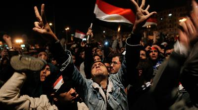 Egypt: 'The people want an end of the regime'