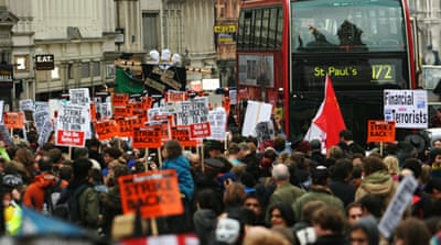 In pictures: Occupy London protest swells