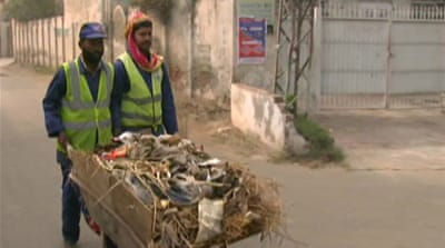 Pakistan's waste gets a second life