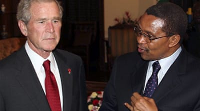 Zambia rejects call to arrest Bush