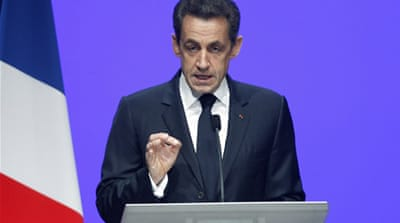 Sarkozy calls for 'refounding of Europe'