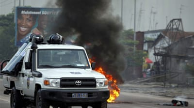 Post-poll clashes turn deadly in DR Congo