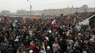 Anti-Putin protests erupt across Russia